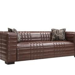 Metro Sofa Ltd Reclining Sofas Orange County Ca Armen Living Maxton Set Brown Al Lcmx3br