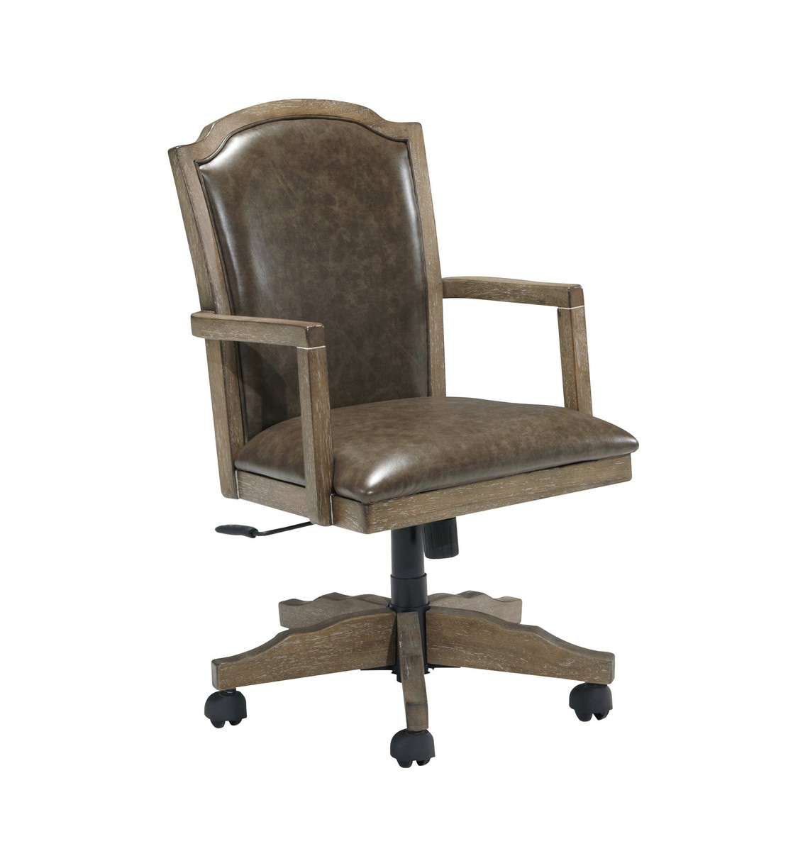 ashley furniture swivel chair summer bentwood high tanshire home office desk h688