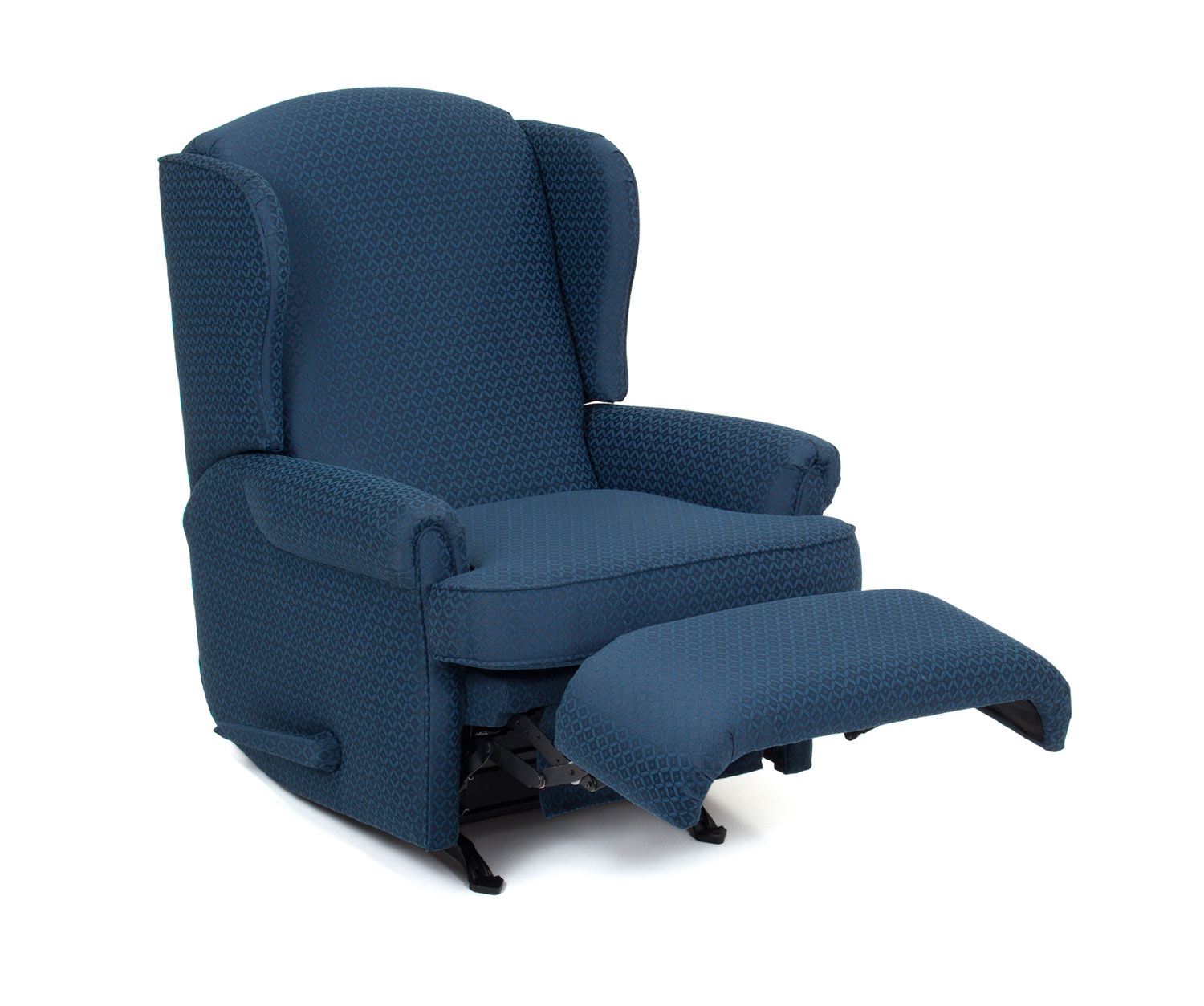 navy rocking chair wedding covers hire hertfordshire barcalounger florence custom choice rocker recliner