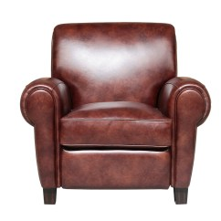 All Leather Recliner Chairs Black Kitchen Barcalounger Edwin Chair Wenlock Fudge