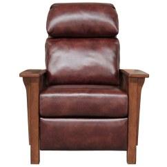 All Leather Recliner Chairs Animal Print Dining Barcalounger Mission Chair Wenlock Fudge