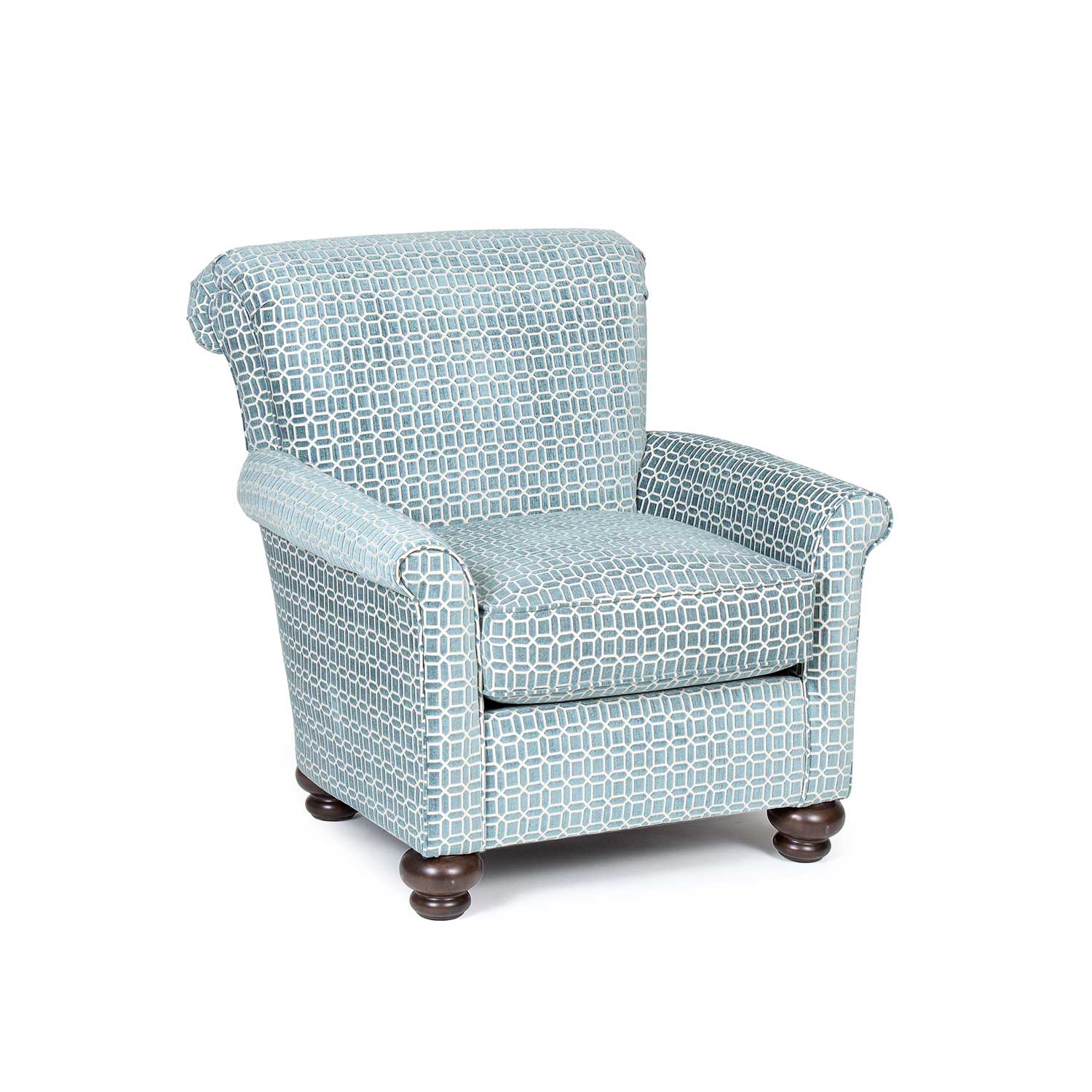 accent chair teal outdoor replacement cushions chelsea home jana chf 791411 c rt at