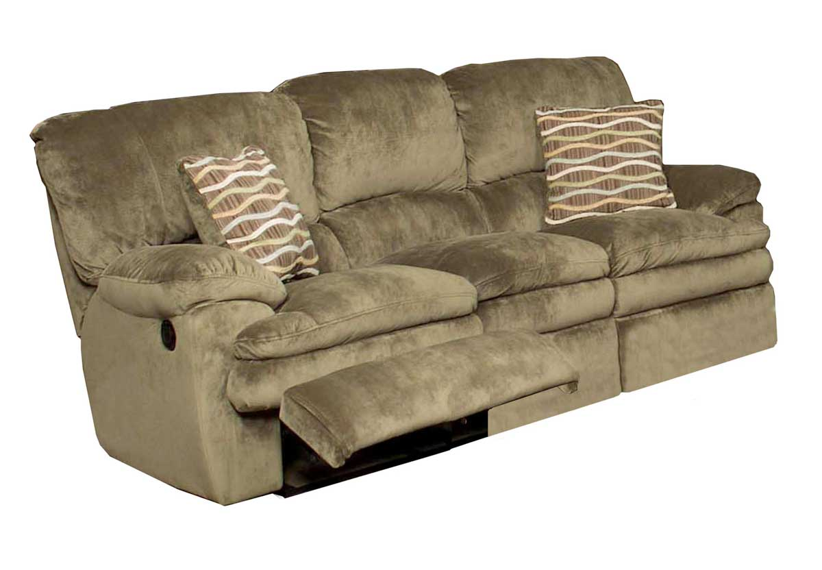 dual reclining sofa and loveseat leather fading repair catnapper easton - sage 1231-sage ...
