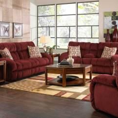 Catnapper Sofa Simple Set Siesta Lay Flat Reclining - Wine Cn ...
