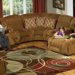 Catnapper Sofa And Loveseat Thayer Coggin Curved Enterprise Sectional Set - Camel Cn-185 ...