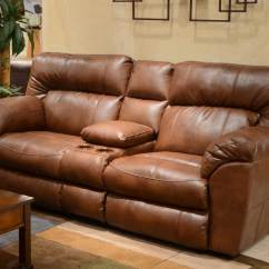 Nolan Power Reclining Sofa Ashley Furniture Bed Catnapper Leather Extra Wide Console