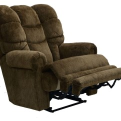 Big Man Lift Chair Rocker Gaming Catnapper Malone Lay Flat Recliner With Extended Ottoman