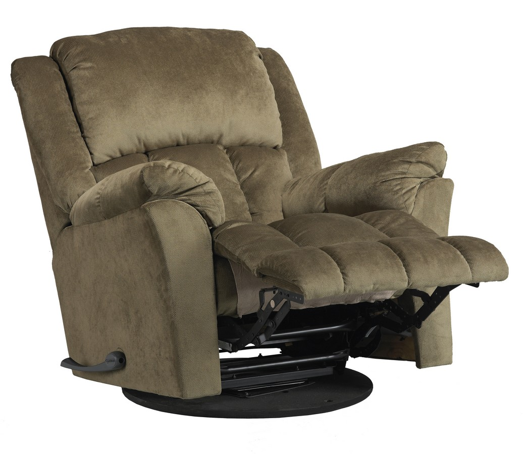 wide glider chair back support catnapper gibson swivel recliner sage cn 4516 5