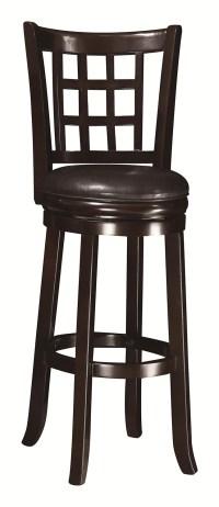 Coaster 29-Inch Wooden Bar Stool - Espresso 102650 at ...