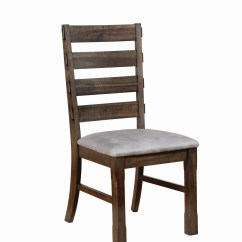 Murphy Chair Company Brentwood Originals Pads Coaster Ladder Back Dining Side Light Taupe