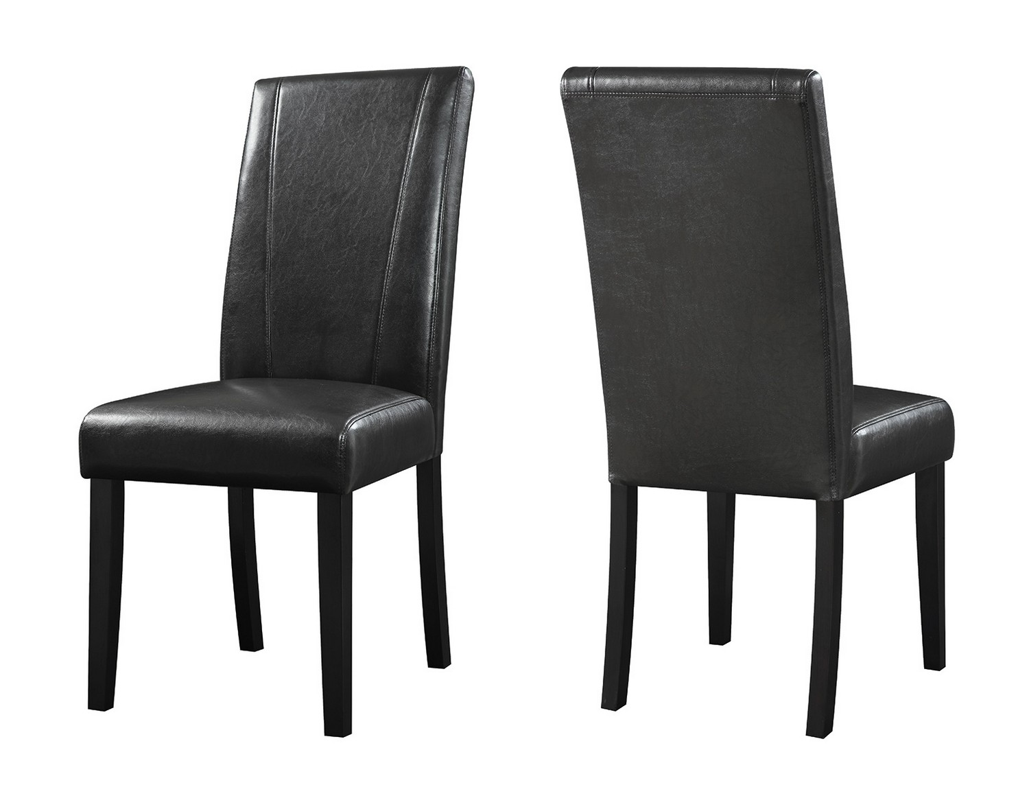 parson chairs rocking for sale coaster nagel chair black 130062 at homelement