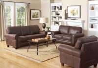 Coaster Bentley Living Room Set - Brown 504201-LivSet at ...