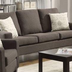 Coaster Bachman Sofa Reviews Corner Bed Uk Polish Grey 504764 At Homelement
