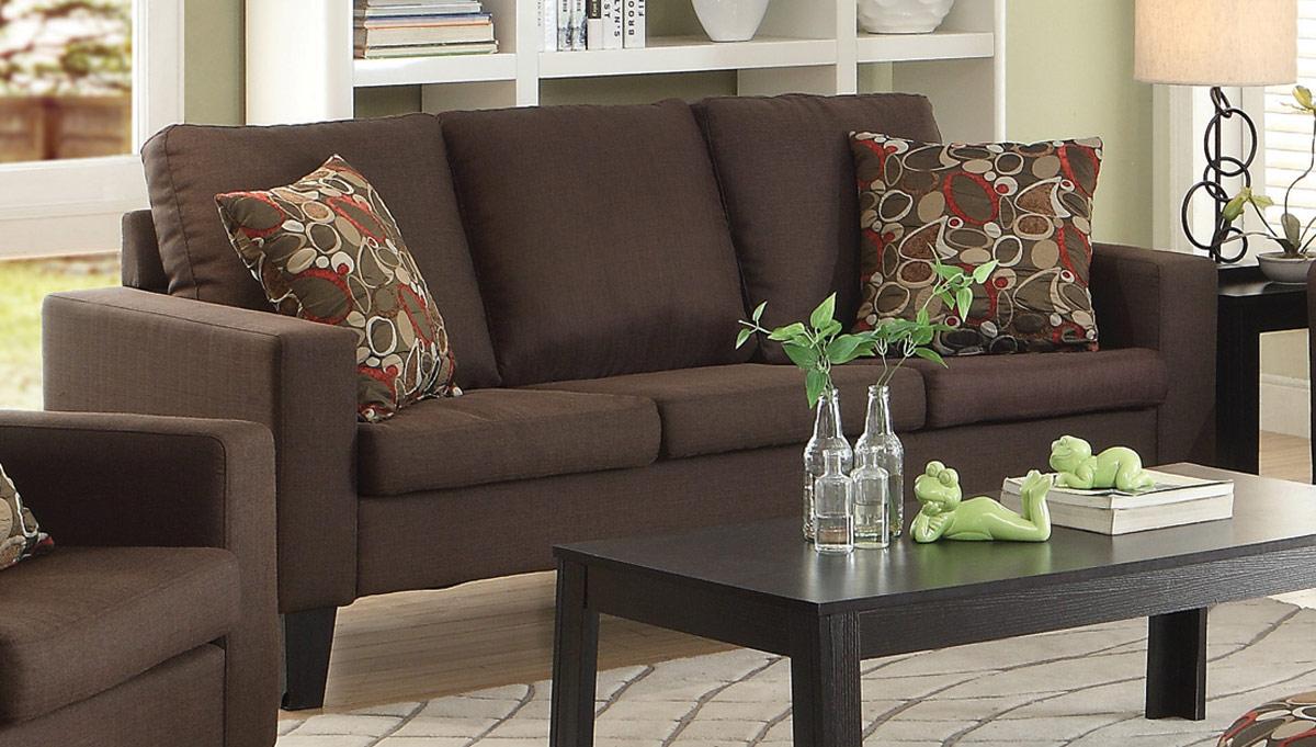 coaster bachman sofa reviews ikea karlstad cover isunda grey - chocolate 504767 at homelement.com