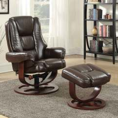 Glider Recliner Chair With Ottoman P Pod Sizes Coaster 600086 Brown