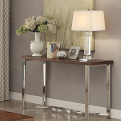 Natal Chrome And Glass Sofa Table Manufacturers Pune Kondhwa Coaster Custer With