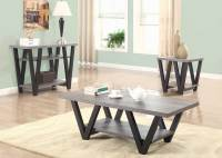 Coaster 705398 Occasional/Coffee Table Set - Antique Grey ...