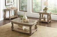 Coaster 720598 Occasional/Coffee Table Set - Antique Linen ...