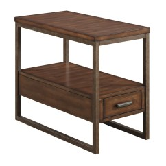 Chair Side Tables With Storage Plastic Table Set Coaster 901680 Chairside Light Brown At