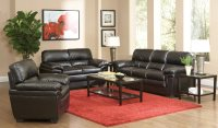 Coaster Fenmore Living Room Set - Black Fenmore-LivSet at ...