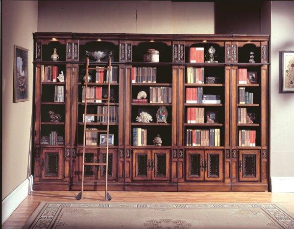 Parker House Davinci Library Bookcases Ph-dav420-430-6