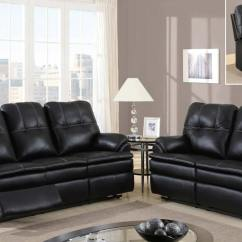 Microfiber Living Room Furniture Pictures Of Decorating A Small Global Usa 1078 Motion Sofa Set - Printed ...