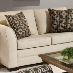 Cream Soft Fabric Sofa Cost Of Reupholstering A Sleeper Global Furniture Usa 5149 Set Cotton