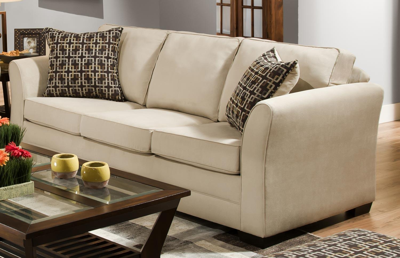 cream soft fabric sofa distressed leather sectional global furniture usa 5149 set cotton