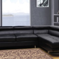 Modern White Sofa Decorating Ideas Rowe Oslo Sectional Global Furniture Usa 8136 - Bonded Leather ...