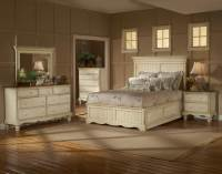 Hillsdale Wilshire Panel Storage Bedroom Set - Antique ...