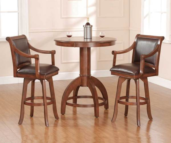 Hillsdale Palm Springs Bistro Table Set Hd-4185ptbs