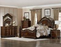 Homelegance Catalonia Bedroom Set - Cherry 1824-BEDROOM ...