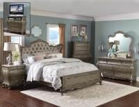 Homelegance Florentina Bedroom Set - Silver/Gold 1867 ...