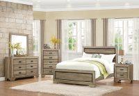 Homelegance Beechnut Panel Bedroom Set - Light Elm B1904-1 ...