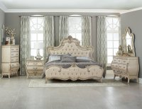 Homelegance Elsmere Button Tufted Upholstered Bedroom Set ...