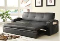 Homelegance Novak Elegant Lounger Sofa with Pull Out ...