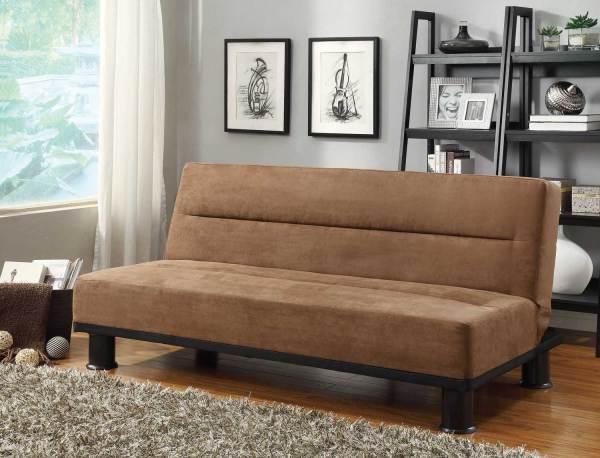 Homelegance Callie Click-clack Sofa Bed - Brown