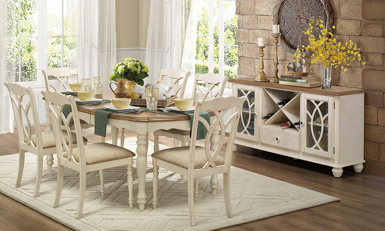 antique white dining chairs wheel chair assistance in indigo homelegance azalea set 5145