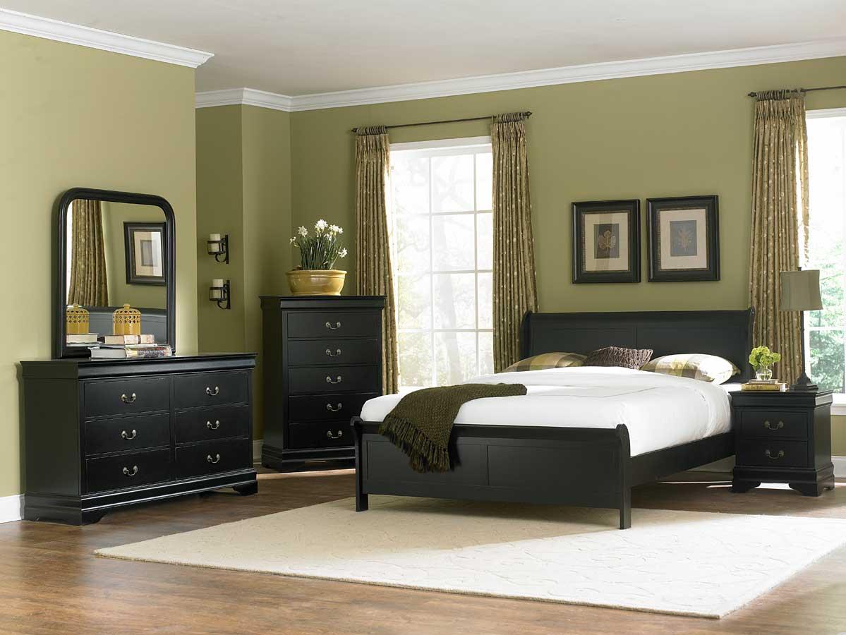 Homelegance Marianne Bedroom Set  Black B539BK at Homelementcom