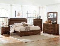 Homelegance Sedley Upholstered Bedroom Set - Walnut 5415RF ...