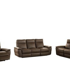 Best Power Reclining Sofa Set Cleaning Velvet Covers Homelegance Olympia Top Grain