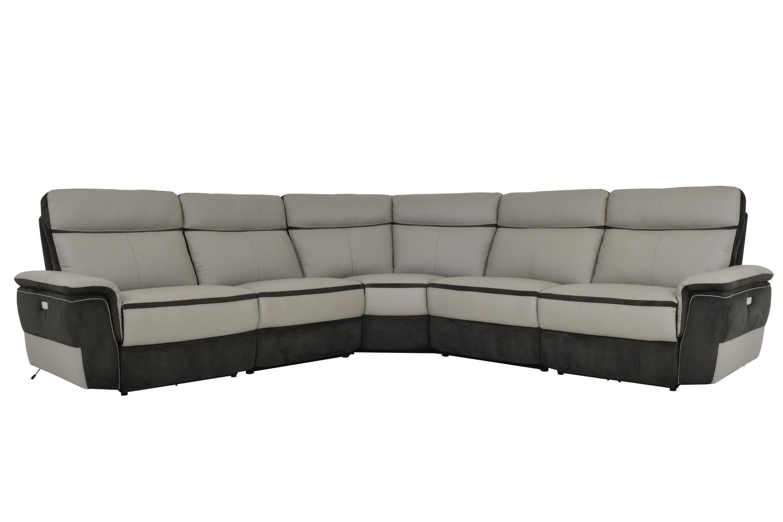 best power reclining sofa set ebay corner bed with storage homelegance laertes sectional