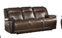 Homelegance Wasola Triple Reclining Sofa - Leather Gel ...