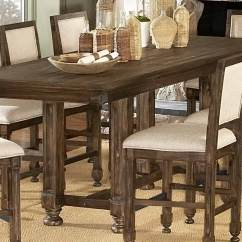 Counter High Chairs Oversized Gravity Chair With Cup Holder Homelegance Ardenwood Height Table 893 36 At