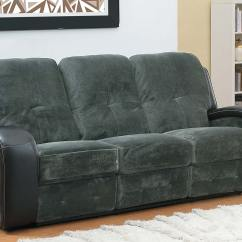 Plush Magnum Sofa Review Cloth Manufacturer In India Homelegance Flatbush Double Recliner Textured