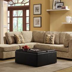 Beige Sofa Set Friheten Bed With Chaise Leather Homelegance Burke Sectional C Brown Chenille