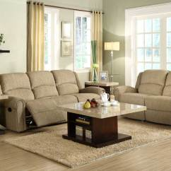 Beige Sofa Set Crate And Barrel Davis Review Homelegance Esther Reclining Chenille