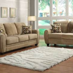 Images Of Sofa Sets Small Circular Outdoor Homelegance Rubin Set Brown Textured Microfiber