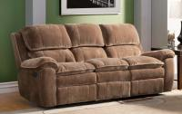 Homelegance Reilly Reclining Sofa Set - Brown - Textured ...
