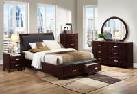 Homelegance Lyric Platform Bedroom Set - Dark Espresso ...